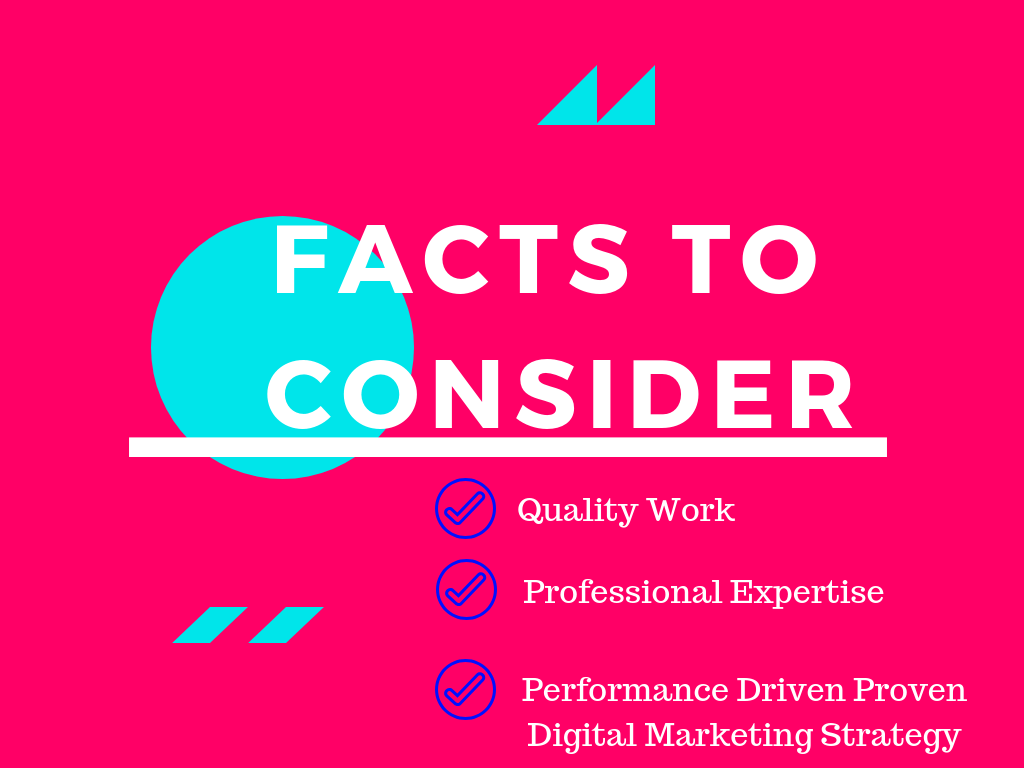 Facts to Consider while hiring an expert digital marketing consultant in India